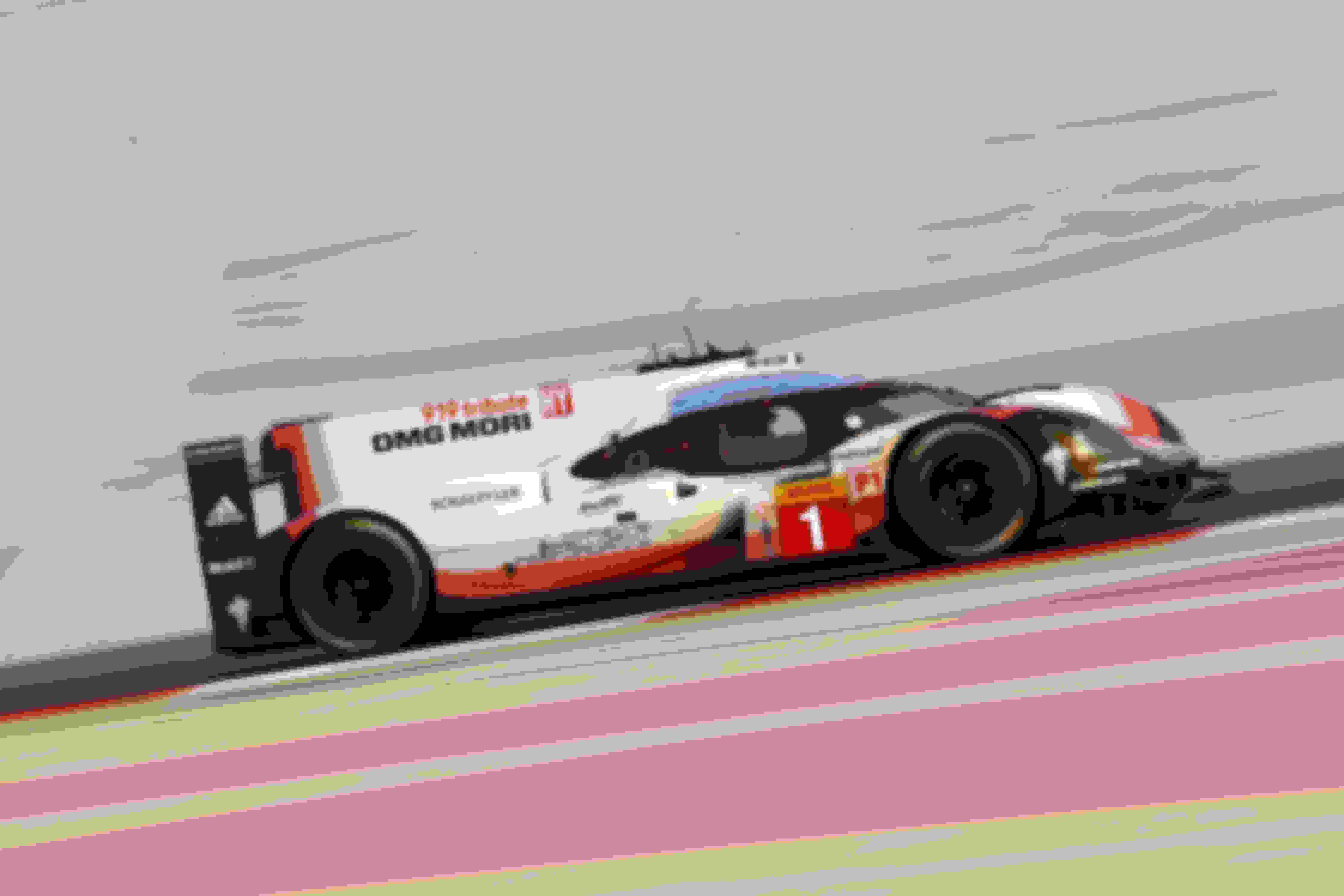 Le Mans winning Porsche