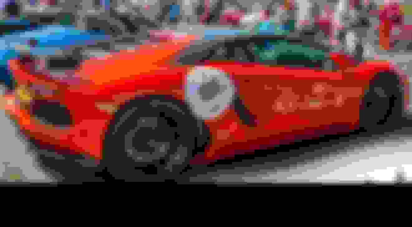 Hyper-car Display - Sunday