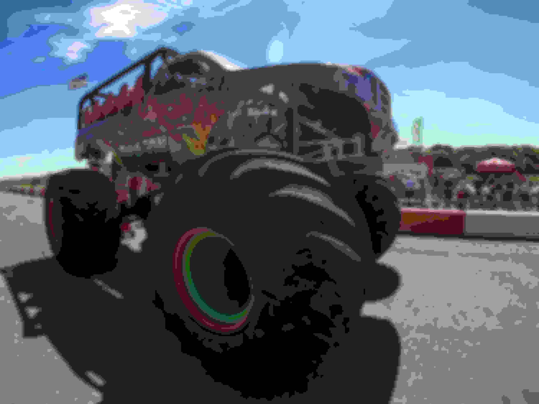 Monster Truck rides - Sat & Sun