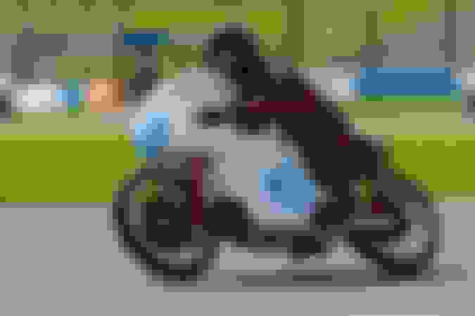 Grand Prix Bike Display - 1951 Moto Guzzi