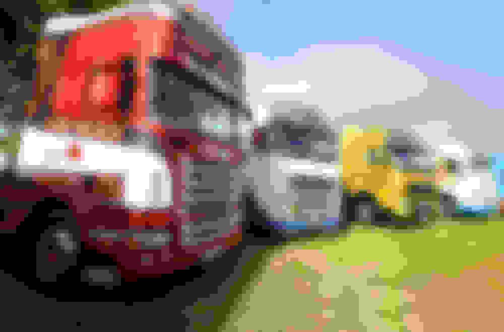 Show Trucks Display