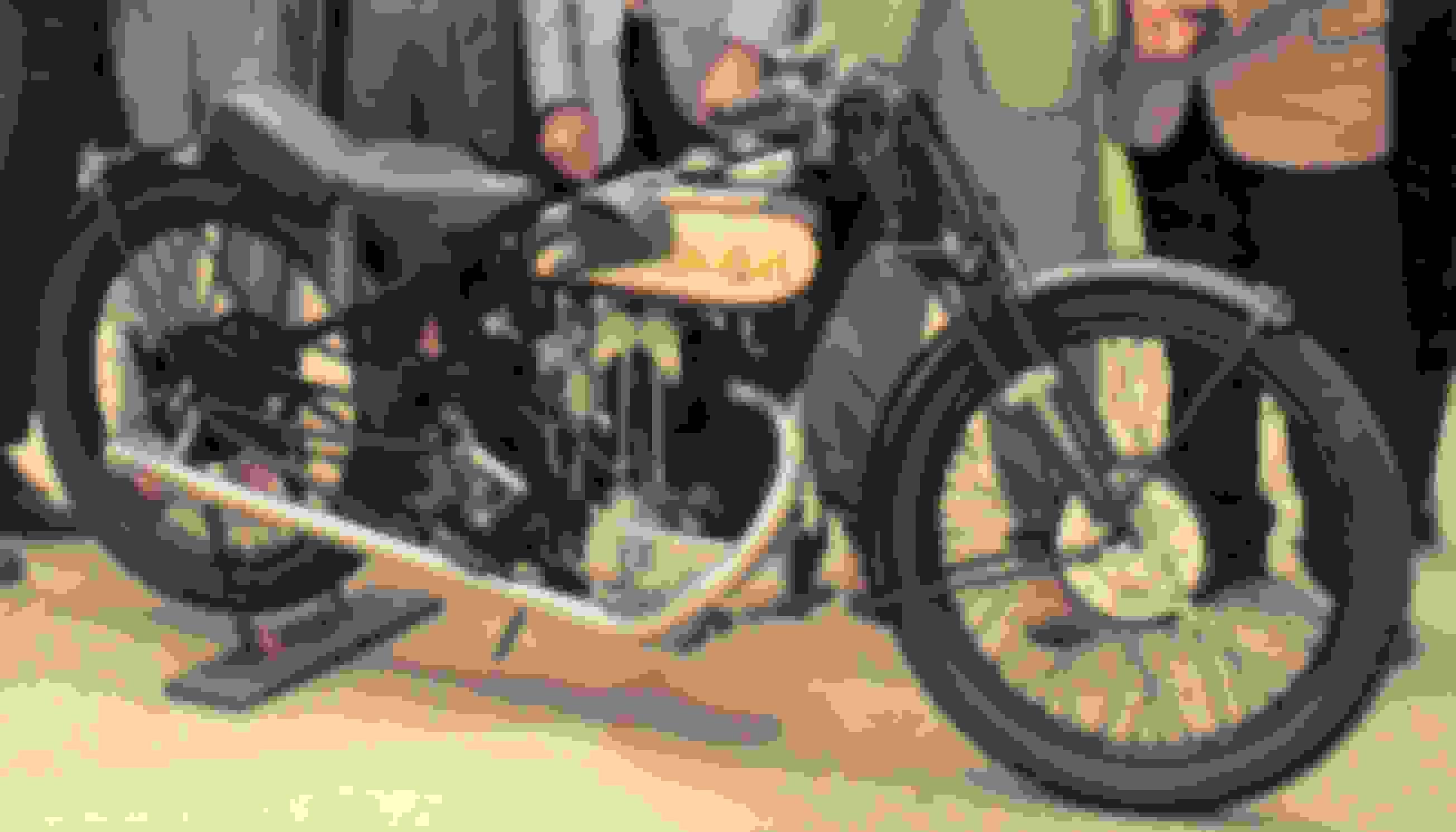 Raleigh 350cc