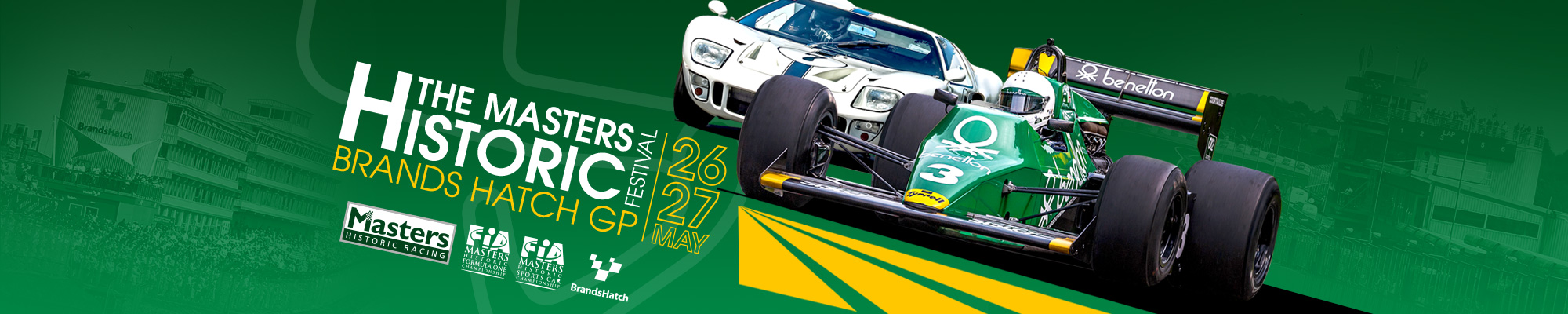 MSV Tickets - Masters Historic Festival - Brands Hatch