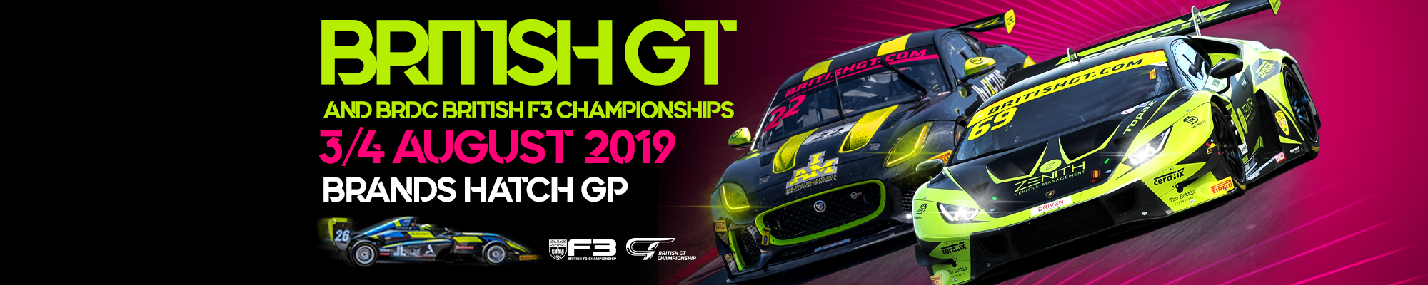 British GT & British F3 Championships