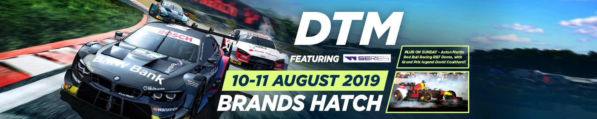 DTM (German Touring Cars) and W Series