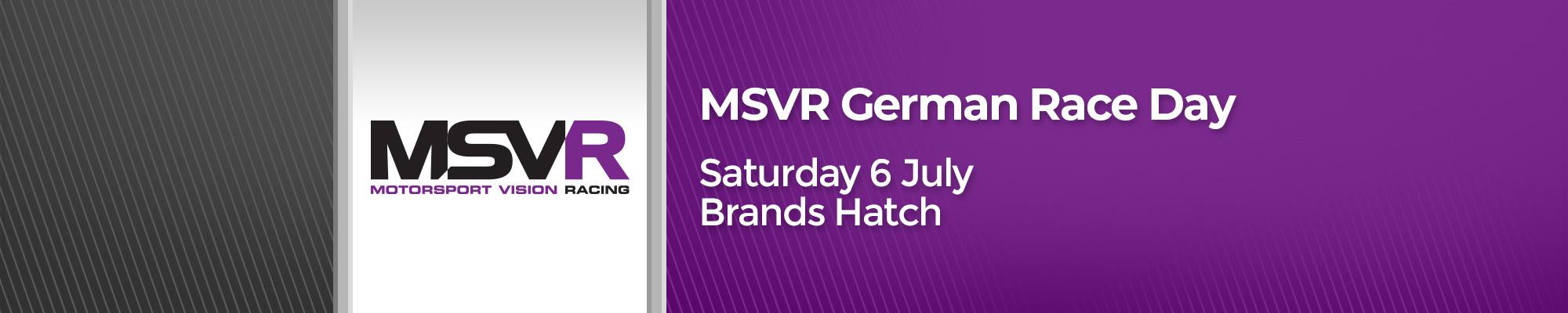 MSVR German Race Day
