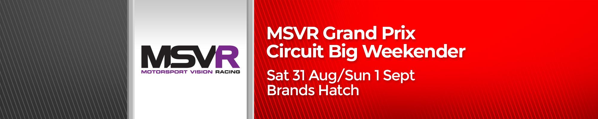 MSVR Grand Prix Circuit Big Weekender