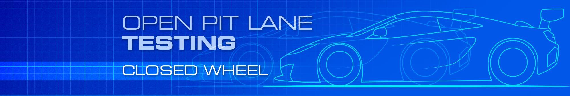 Open Pit Lane Testing - £180 to £310