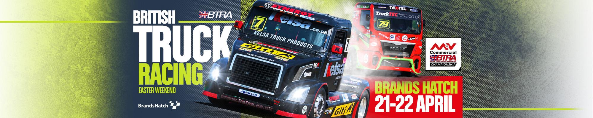 MSV Tickets - British Truck Racing - Brands Hatch