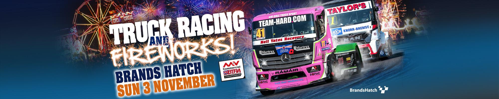 British Truck Racing & Fireworks