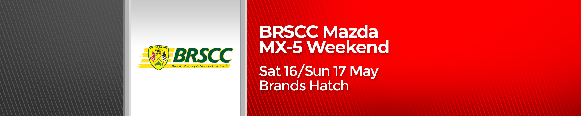 BRSCC Mazda MX-5 Race Weekend - POSTPONED