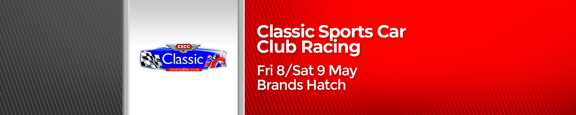 Classic Sports Car Club Racing - POSTPONED