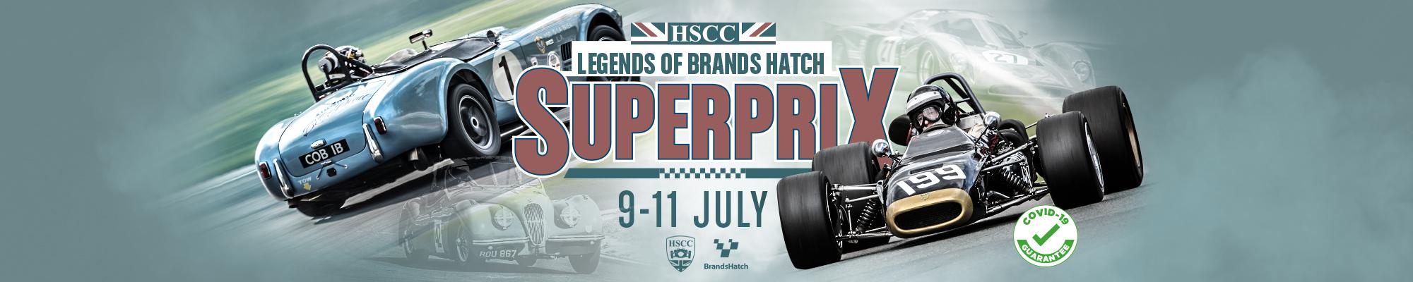 HSCC Legends of Brands Hatch Superprix