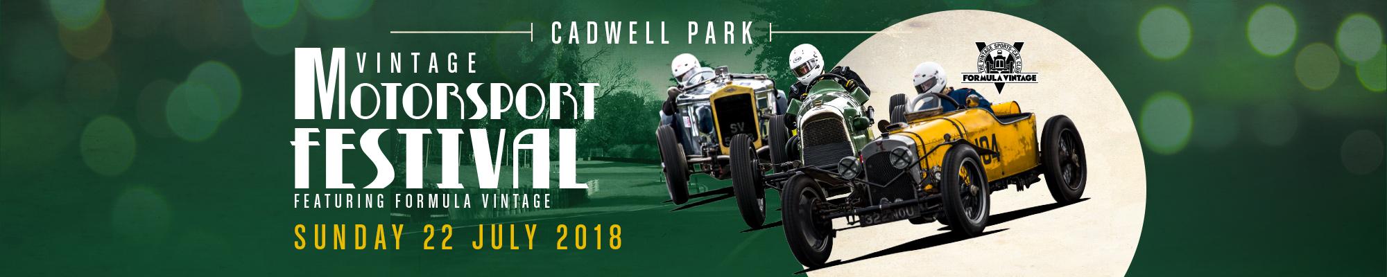 Vintage Motorsport Festival - Featuring Formula Vintage