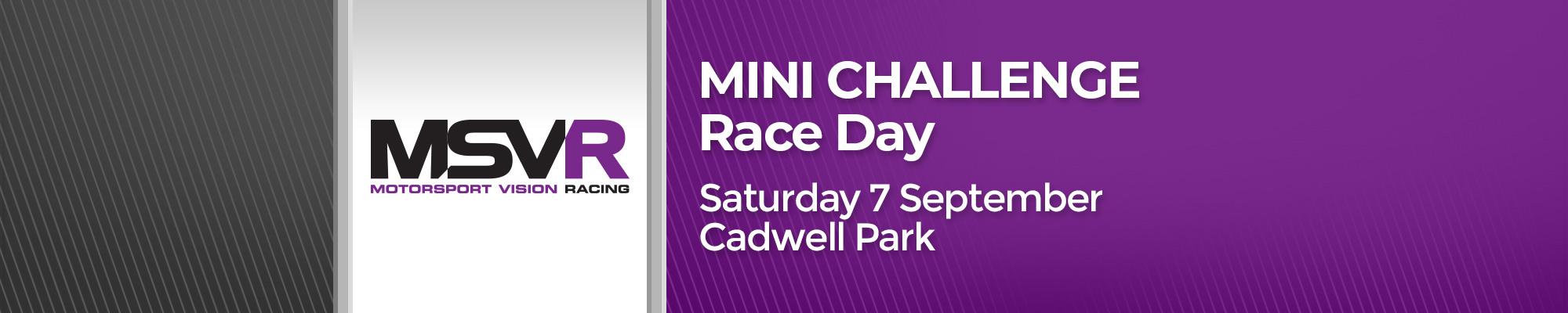 MINI CHALLENGE Race Day