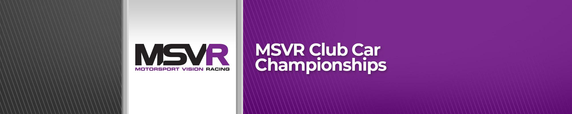 MSVR Club Car Championships - POSTPONED