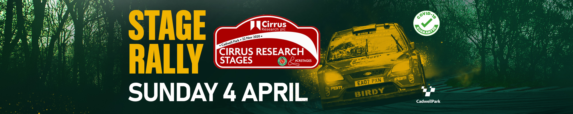 Cirrus Research Stages at Cadwell Park Rally