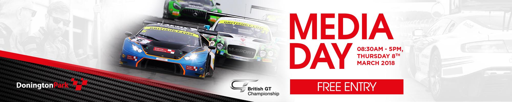 British GT Media Day