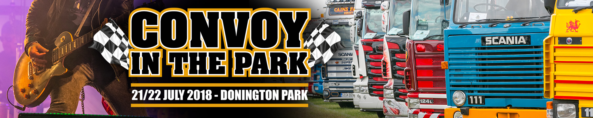 Convoy in the Park featuring Truck Racing