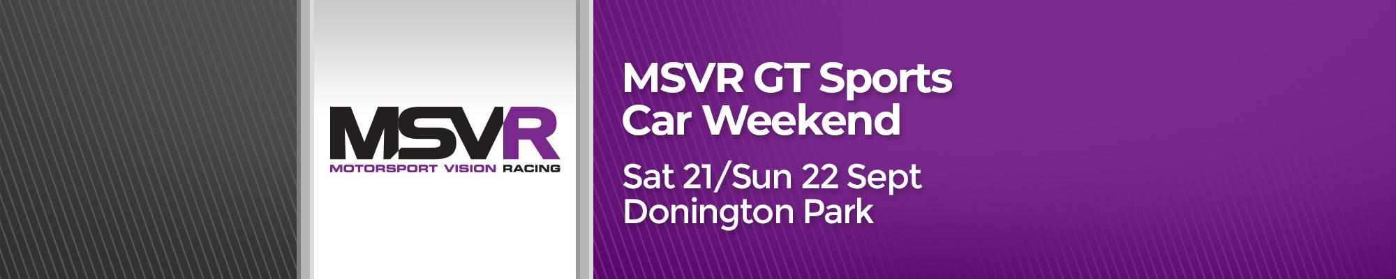 MSVR GT/Sports Race Weekend