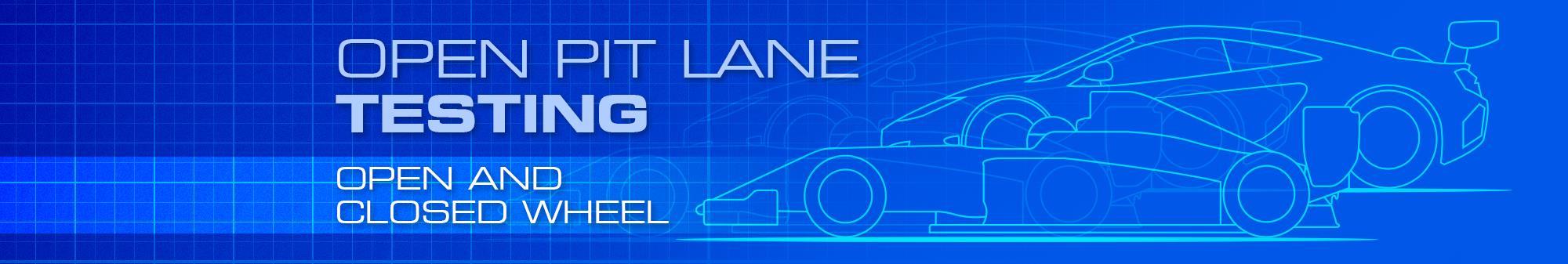 Open Pit-Lane Testing - £420