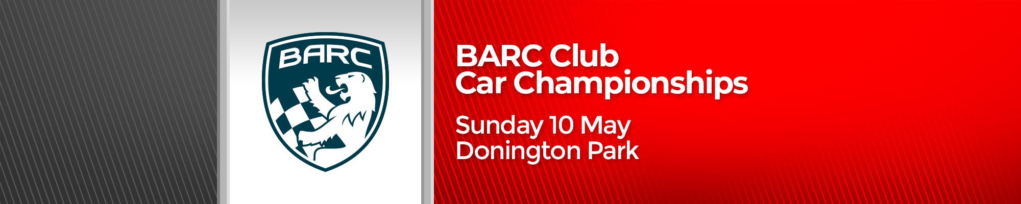 BARC Club Car Championships - POSTPONED