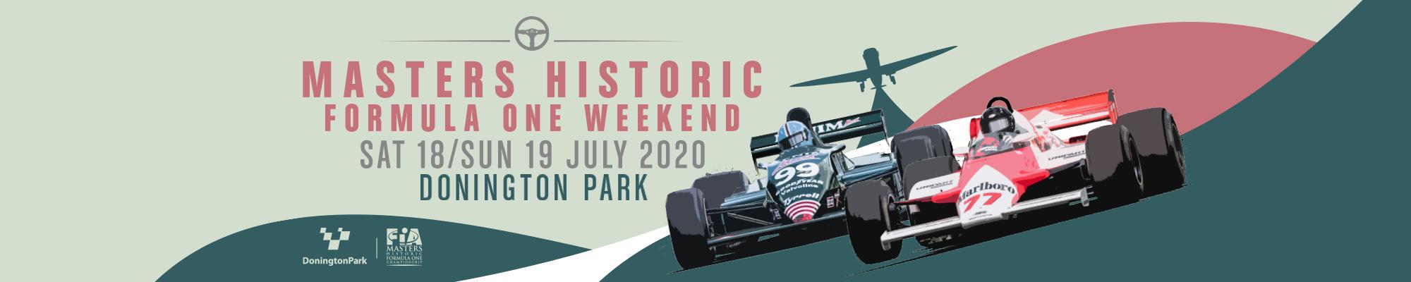 Masters Historic Formula One Weekend - POSTPONED
