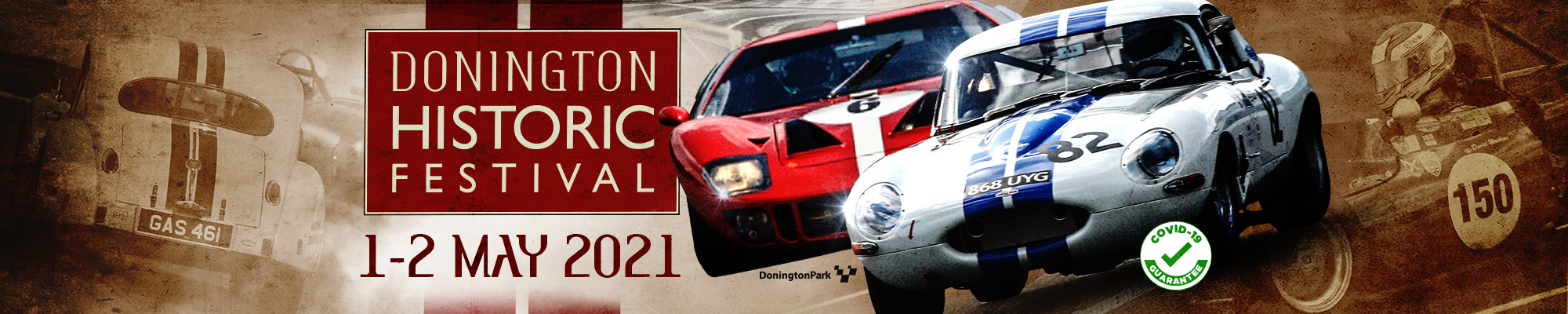 Donington Historic Festival- NO SPECTATORS