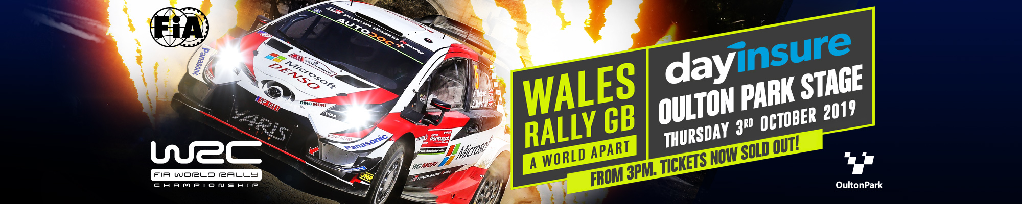 Wales Rally GB Dayinsure Oulton Park Stage