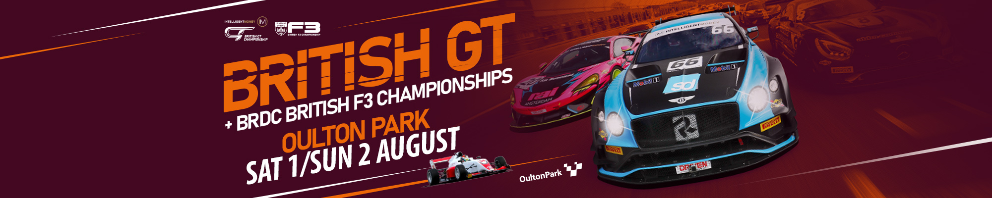 British GT & British F3 Championships - POSTPONED