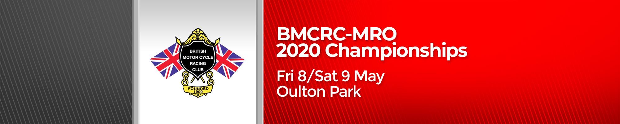 BMCRC-MRO 2020 Championships - POSTPONED
