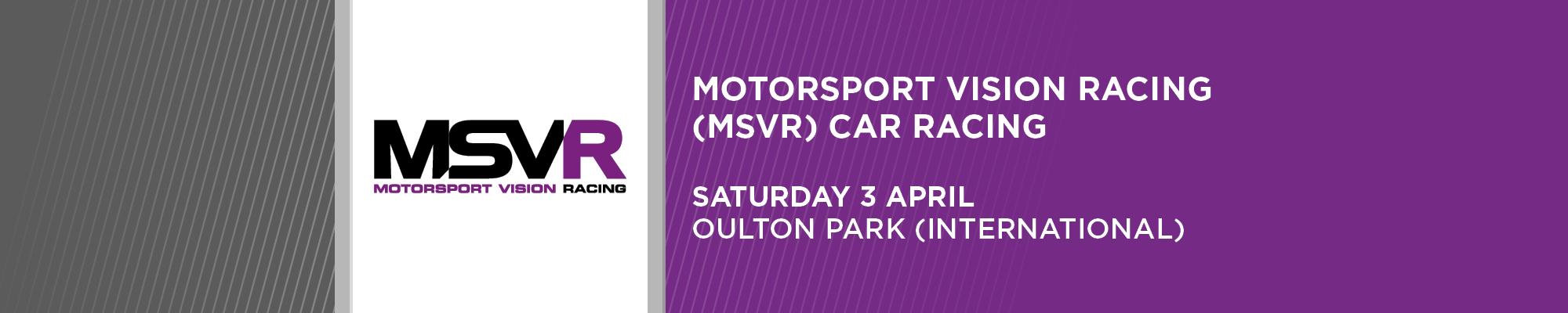 MSVR Club Car Championships- NO SPECTATORS