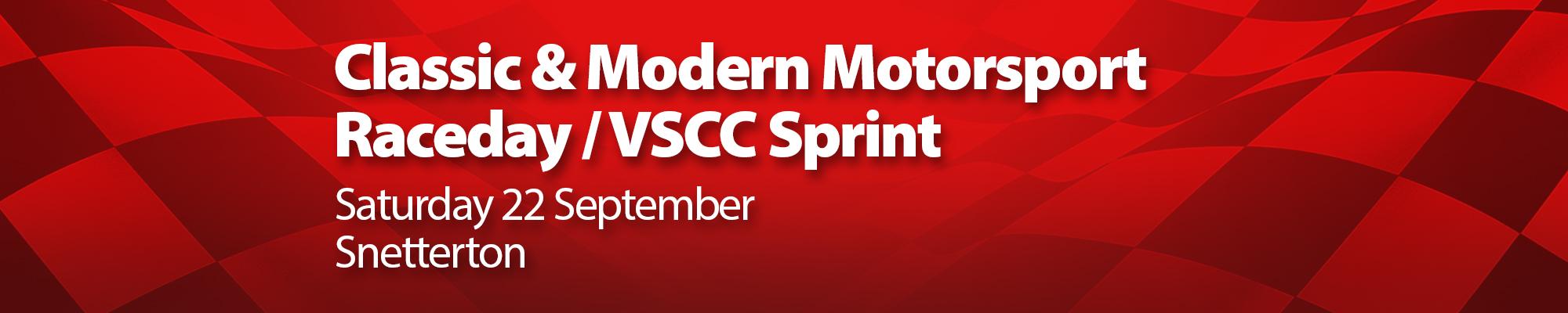 Classic & Modern Motorsport Races/VSCC Sprint