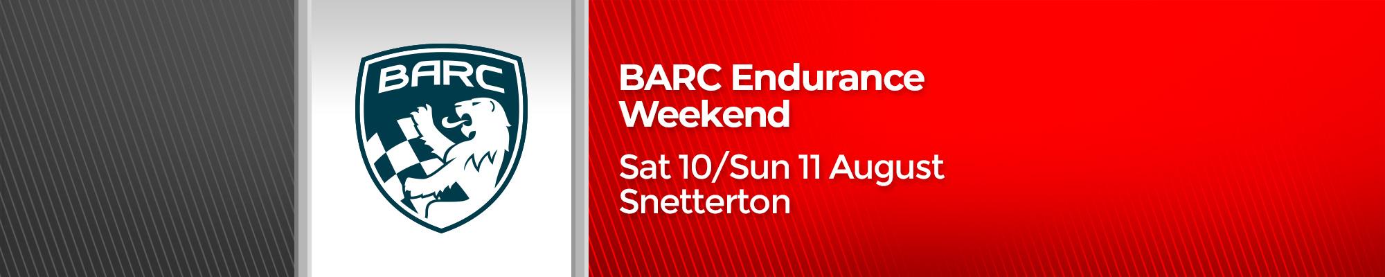 BARC Endurance Weekend