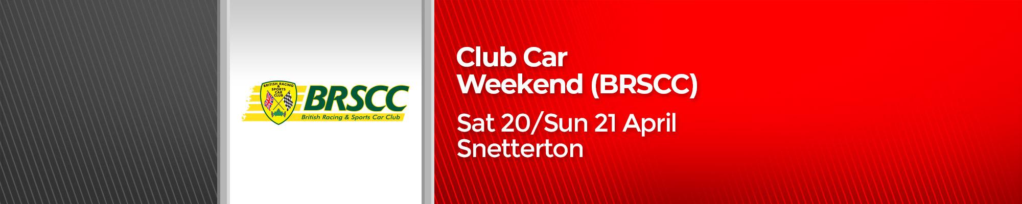 BRSCC Snetterton Race Weekend