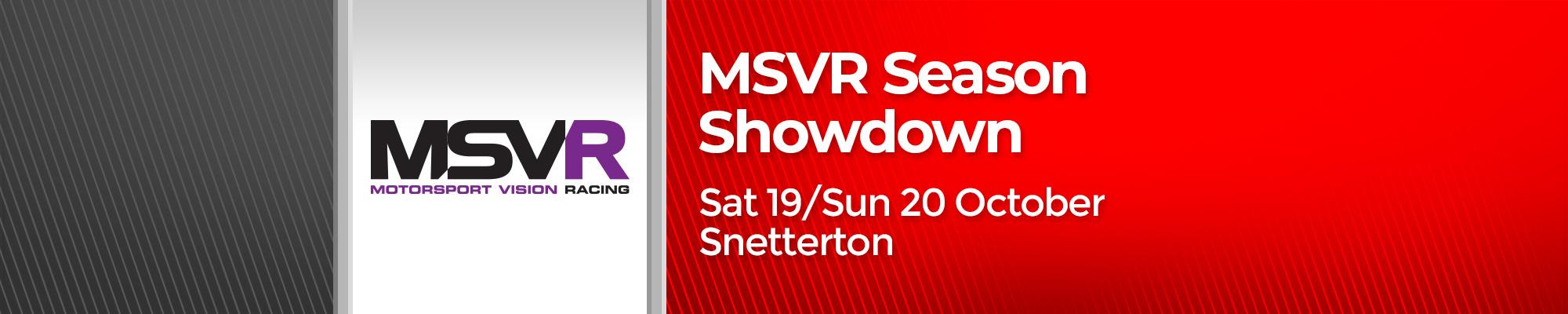 MSVR Season Showdown