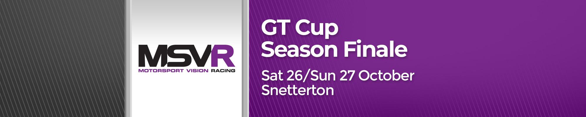 GT Cup Season Finale