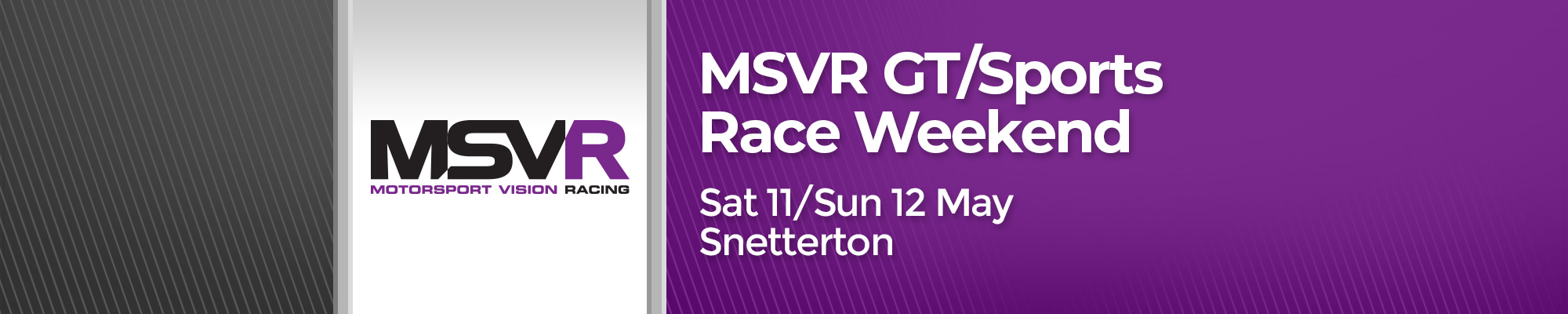 MSVR GT/Sports Race Weekend