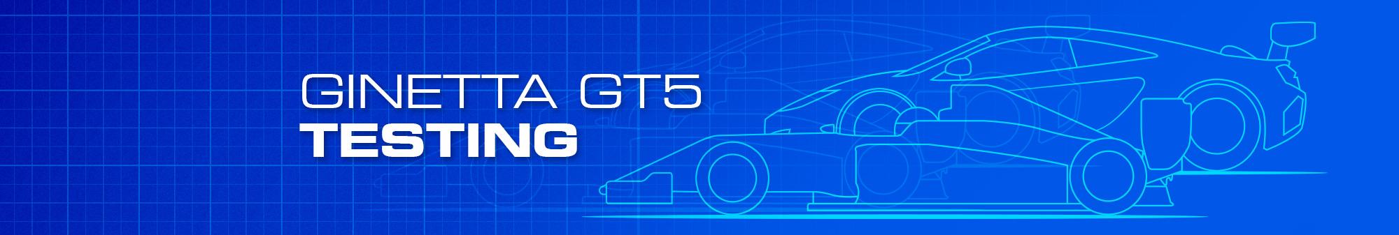 Ginetta GT5 Testing - £546
