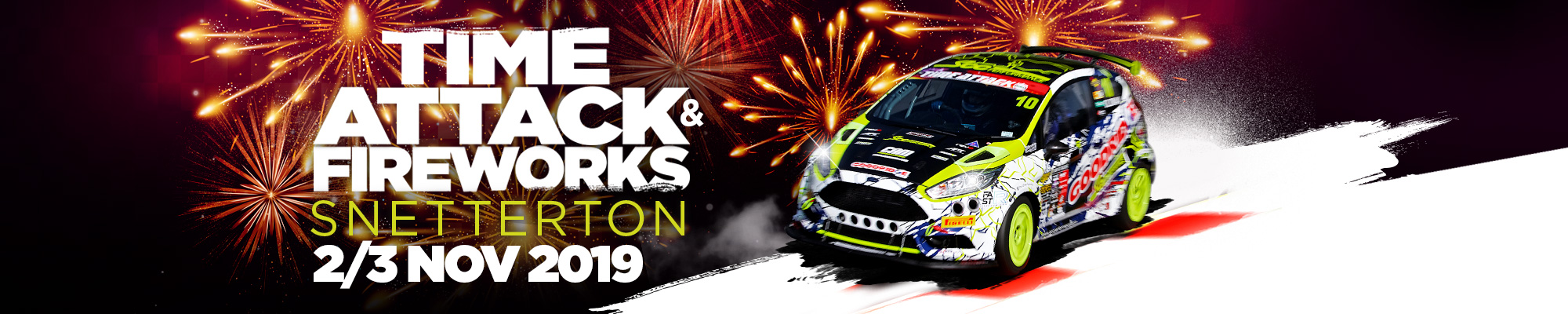 Time Attack and Fireworks Display