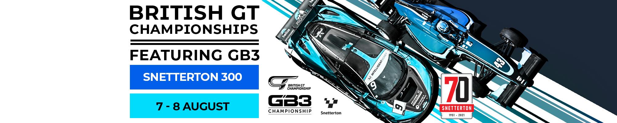 British GT & GB3 Championships