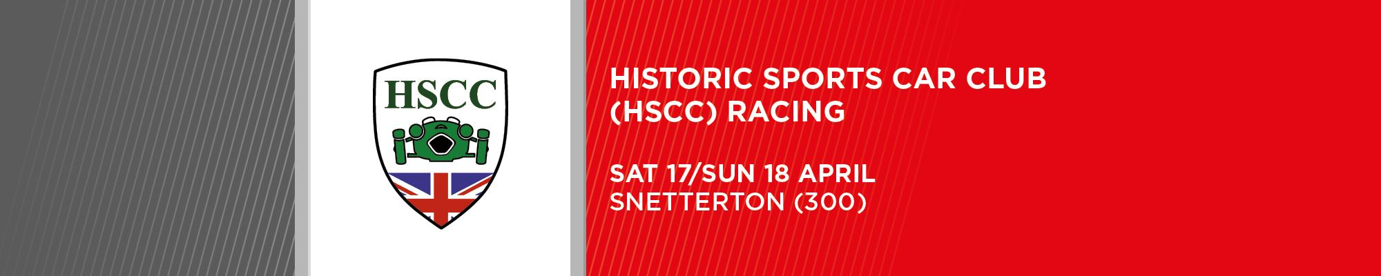Historic Sports Car Club - NO SPECTATORS