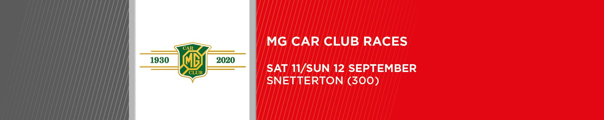 MG Car Club Championships