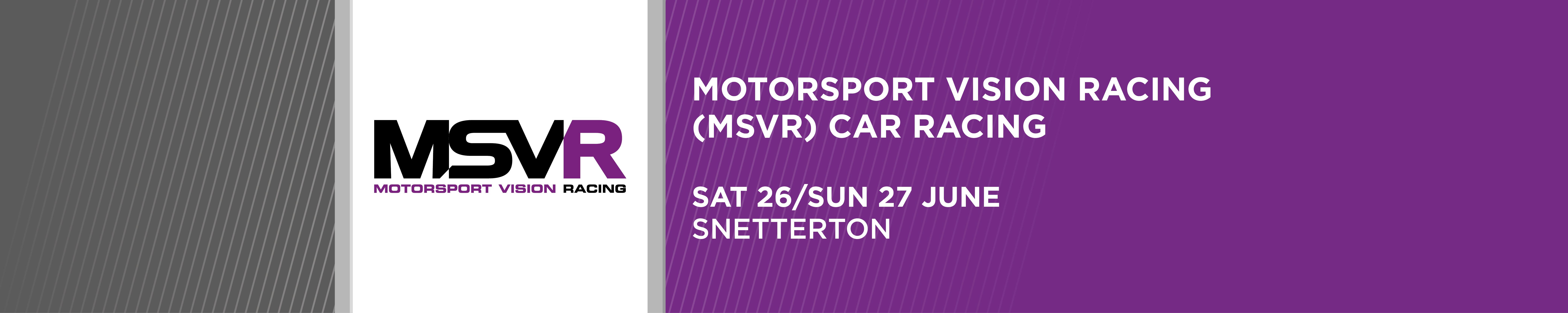 MotorSport Vision Racing and Borough 19 Motor Club