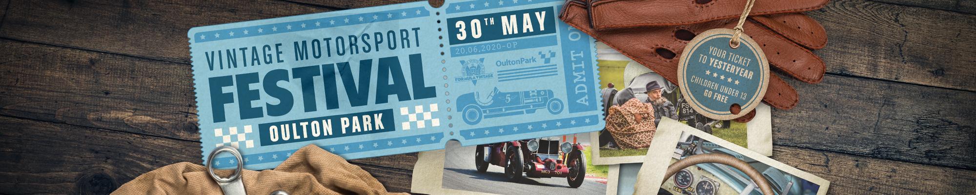 Vintage Motorsport Festival - Featuring Formula Vintage - POSTPONED
